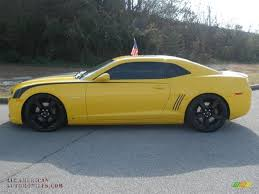 2010 black camaro ss for sale 2010 chevrolet camaro ss rs coupe in rally yellow photo 2