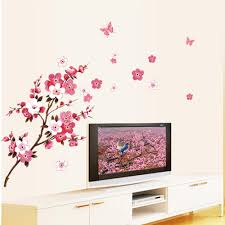 aliexpress com buy 2015 wall sticker huge tree cherry blossom aliexpress com buy 2015 wall sticker huge tree cherry blossom wall decal nursery tree flowers art baby kids room wall sticker nature wall decor hot from