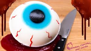 how to make a giant gummy eyeball filled w edible blood slime