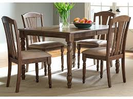 liberty furniture dining room 5 piece rectangular table set 163 cd