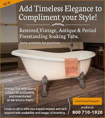 Victorian Bathtubs For Sale Vintage And Antique Bathtubs For Sale