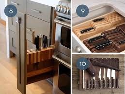 Knives In The Kitchen Toss The Block 10 Creative Ways To Store Kitchen Knives Curbly