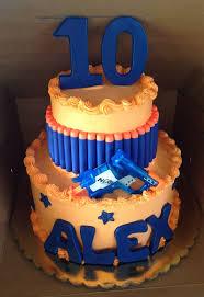 18 best nerf cake ideas images on pinterest nerf cake 9th