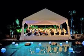 Wedding Centerpieces Floating Candles And Flowers by Floating Pool Flowers And Floating Candles Guerdydesign
