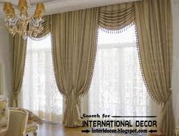 Top Trends Living Room Curtain Styles Colors And Materials - Curtain design for living room