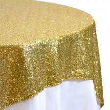 sequin table overlay 72 x 72 gold 405004 wholesale wedding