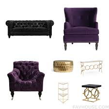reputable pippa purple accent chair together with uttermost living