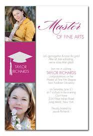 school graduation announcements masters graduation announcements masters graduation announcements
