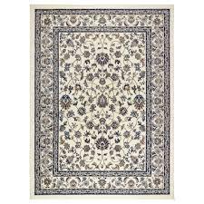 carpet ikea vallöby rug low pile beige blue 170x230 cm ikea