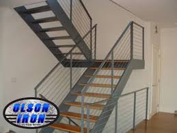 Steel Banister Rails Stainless Steel Railing Las Vegas Residential And Commercial