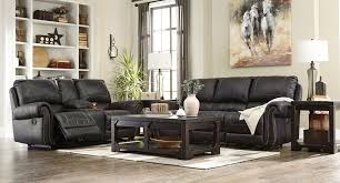 Recliner Living Room Set Milhaven Black Reclining Living Room Set Living Room Sets