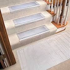 clear vinyl stair treads protectors modern home interior design