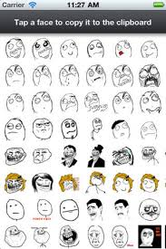 Meme Face Collection - rage faces for sms apprecs