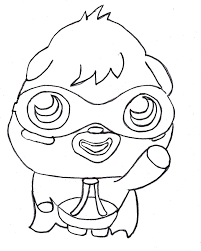 free printable moshi monster coloring pages for kids coloring home