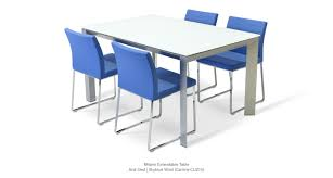 milano modern extendable dining tables sohoconcept