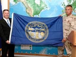 What Is A Flag Officer Nebraska U0027s State Flag Could Get A Makeover Resolution Says It