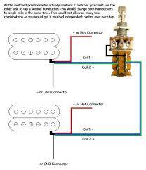 dean dual humbucker wiring diagram dual voice coil wiring diagram