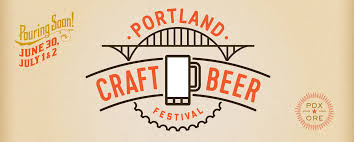 Portland Neighborhood Map Poster by 2018 Portland Craft Beer Festival July 6th 8th At Fields Park