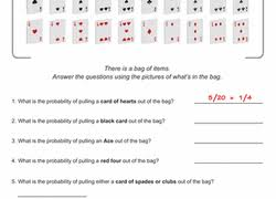 probability worksheets u0026 printables education com