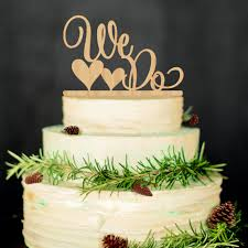 we do cake topper we do antic rustic wedding cake topper laser cut wood letters