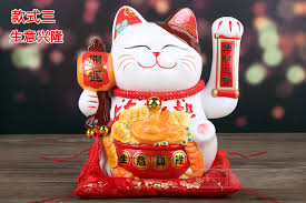 aliexpress buy ceramic lucky cat ornament battery electric