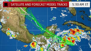 Mexico Weather Map by The Weather Channel On Twitter