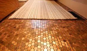 small bathroom floor ideas small bathroom floor tiles pennies 2 small bathroom flooring ideas
