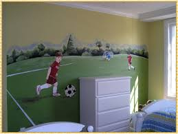 soccer wall decals home decorations ideas