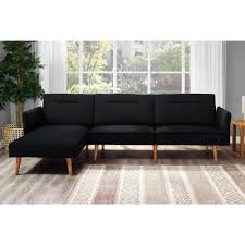 chaise pot b b dhp brent linen futon chaise free shipping today overstock com