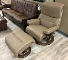 Camel Leather Chair Stressless Capri Paloma Funghi Leather By Ekornes Stressless