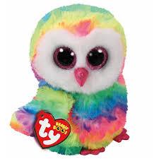 aliexpress com buy ty beanie boos owen the owl 6