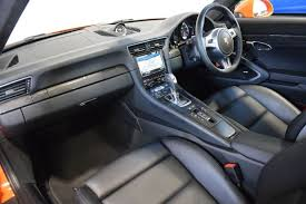 Porsche 911 Turbo S Interior Used Gulf Orange Porsche 911 Turbo For Sale South Yorkshire