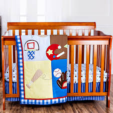 Monkey Crib Bedding Sets Dream On Me All Star Athlete 2 Piece Crib Bedding Set Walmart Com