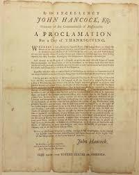 1783 thanksgiving proclamation rev m preble rev