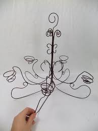 Wire Chandeliers 12 Best Wire Chandeliers Images On Pinterest Wire Chandeliers