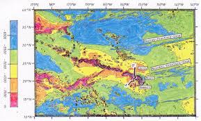 Isoline Map Scientific Paper The Mantle Plume Spot Of Hawaii