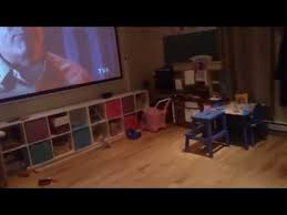 Media Room Tv Vs Projector - projector benq w1070 screen 120 inch youtube