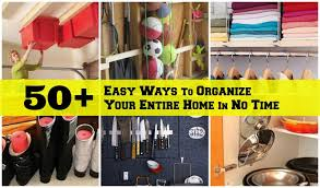 tips for organizing your home tutorialous com simple ways to manage your entire house