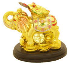 this gorgeous feng shui ornament with money toad on the elephant