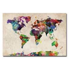 37 eye catching world map posters you should hang on your walls