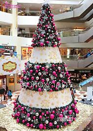 artificial decorated trees lights decoration