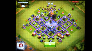 layout coc town hall level 7 clash of clans town hall level 7 farming defense layout youtube
