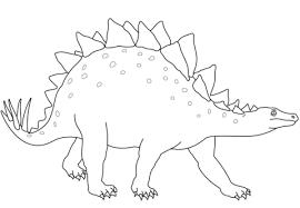 stegosaurus dinosaur coloring free printable coloring pages