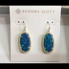 blue earrings kendra jewelry kendra blue kyocera opal