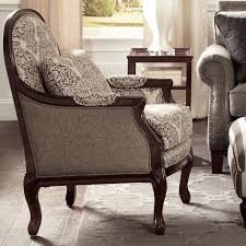 Traditional Chairs For Living Room Craftmaster Accent Chairs Traditional Chair With Cabriole Legs And