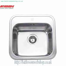 RODI Kitchen Sinks RODI Manaus Stainless Steel Inset Kitchen Sink RODI - Stainless steel kitchen sink manufacturers