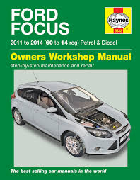 ford focus petrol u0026 diesel 11 14 haynes repair manual haynes