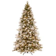 national tree company 7 1 2 ft snowy westwood pine hinged