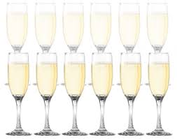 stemless champagne flutes amazon com 12 piece set dailyware toasting flutes champagne