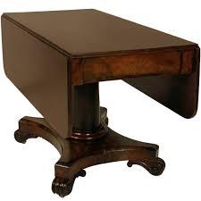 Drop Leaf Pedestal Table William Iv Drop Leaf Pedestal Table At 1stdibs